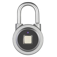 New Fingerprint Smart Keyless Lock Waterproof APP Button Password Unlock Anti-Theft Padlock Door Lock for Android iOS System