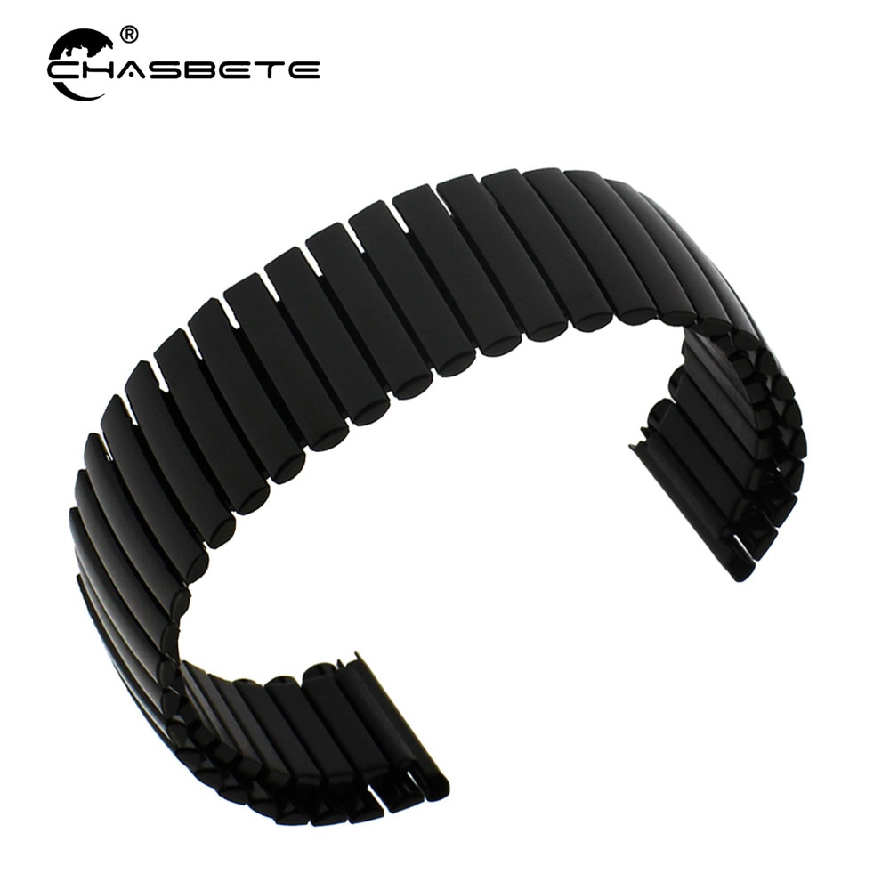 Stainless Steel Watch Band 16mm 20mm 22mm for Motorola Moto 360 2 42mm 46mm Men Women Elastic Strap Loop Expansion Belt Bracelet