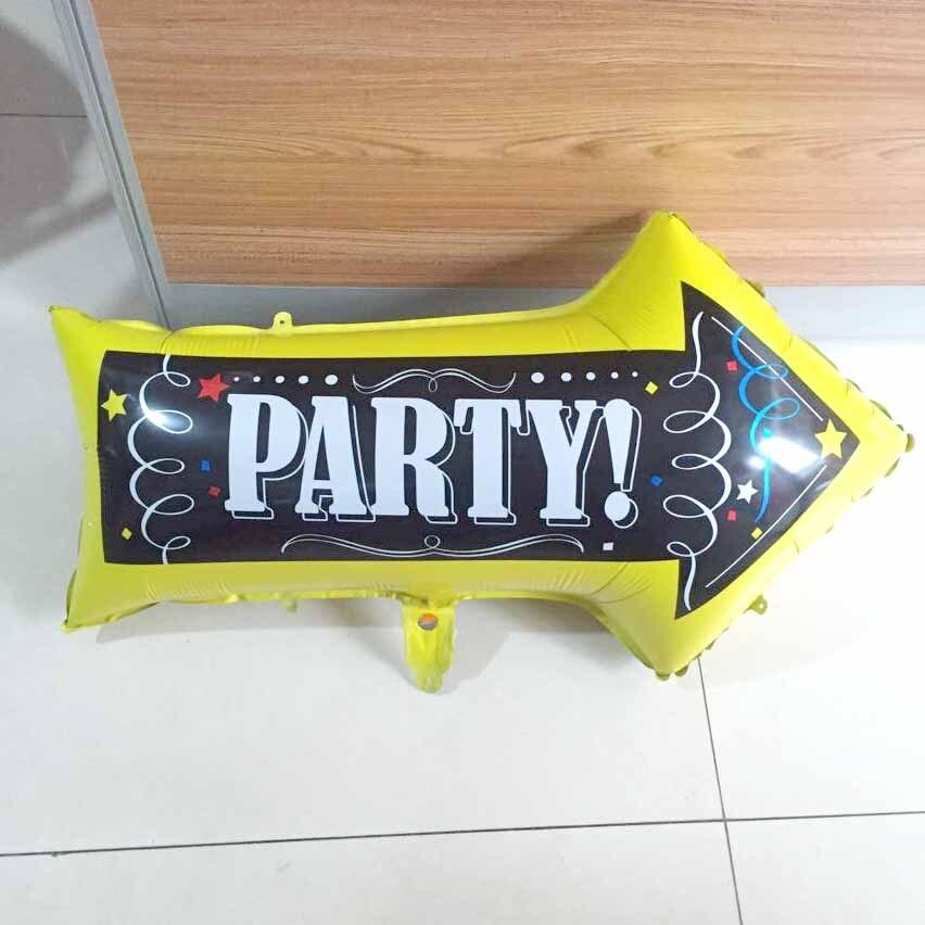KAMMIZAD fiesta indicador Globos fiesta celebración suministros inflables helio Globos flecha evento Fiesta