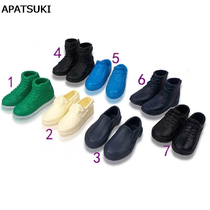 1 Пара Модная кукольная обувь кроссовки обувь для принца Кена мужские Куклы Аксессуары для парень Барби Кен Высокое качество детская игрушка