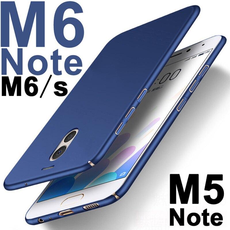 Полностью Защитный чехол для meuzu M6 note, матовый чехол из поликарбоната для M 6 Meizu M5 Note, 32 ГБ 16 ГБ, модный жесткий чехол для телефона M6s Meizu M6Note
