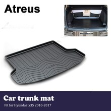 Atreus  Waterproof Car Trunk Mat Tray Cargo Floor Liner Carpet Pad For Hyundai ix35 2010 2011 2012 2013 2014 2015 2016 2017