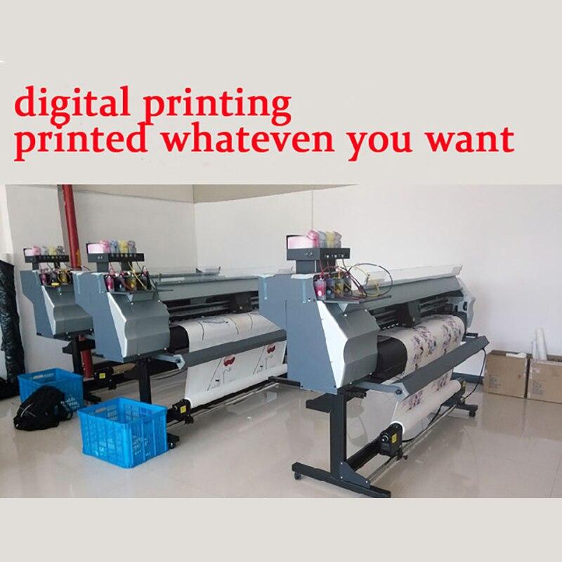 High-end custom Polyester digital printing machining Proofing Custom-made,drawings printing,Cloth fabric printing Free Shipping