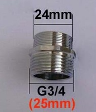 Adaptateur de robinet masculin 24 à G3/4   24 à 4