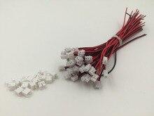 Mini JST 2.0 PH connecteur 2 broches   5 jeux, avec câbles fils, 120MM, vente directe en usine, OEM, vente en gros