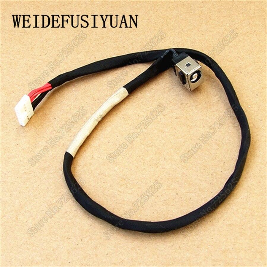 Новое штекерное гнездо постоянного тока кабельный разъем порт для MSI GP70 MS-175A MS-175X GP60 MS-16GD MS-16GH