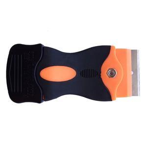 Image 4 - 1 шт. скребок для бритвы 10 шт. Сменные Металлические лезвия для клеевой наклейки пленка для краски керамическая печь для автомобиля домашняя Чистка пола K05 Лидер продаж