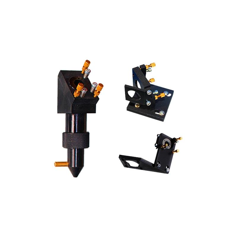 Conjunto de cabezales láser industriales para grabador láser sin reflectores sin objetivo de enfoque kit de cabezal láser CO2