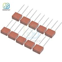 10 Uds 1A 2A 3.15A 4A 5A 6.3A 250V 392 fusible de plástico cuadrado LCD TV Junta comunes fusibles fusible de golpe lento T1A T2A T3.15A
