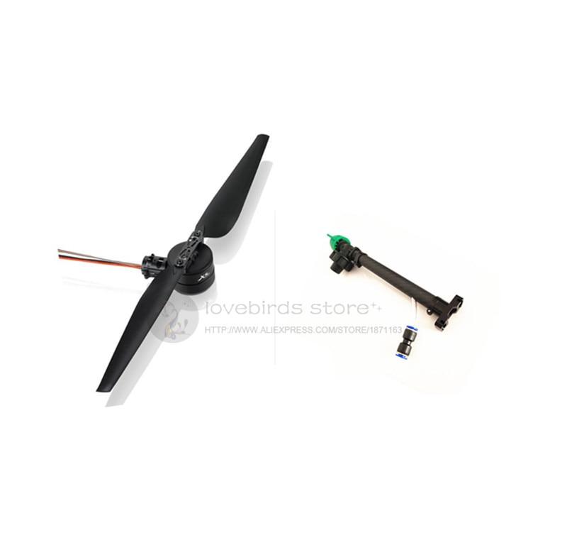 Systèmes dalimentation dorigine hobbywing X8 FOC + buses datomisation haute pression étendues X8 pour drones de pulvérisation agricoles bricolage