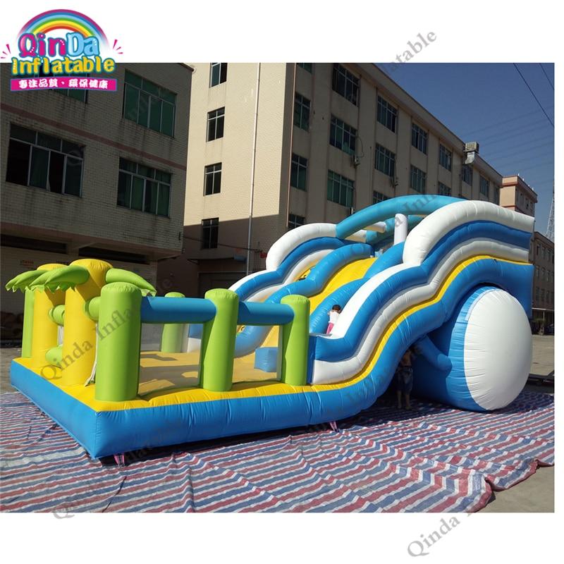 36x18x16ft comercial gorila inflable de PVC tobogán inflable castillo hinchable Combo para alquiler