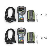 1 système de contrôle de CNC de contrôleur 3/4 tenu dans la main pour le graveur de routeur