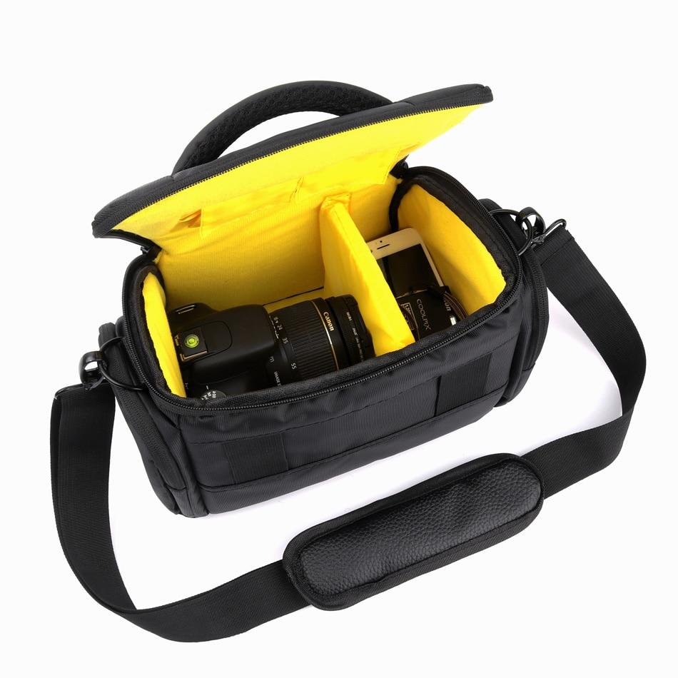 Câmera Caso Bolsa de Ombro Para Sony Alpha A7 A7R A6500 A6300 A6000 A5100 A5000 A7S II 2 M2 NEX-7 NEX-6 NEX-5T NEX-3N NEX-5N NEX-5R