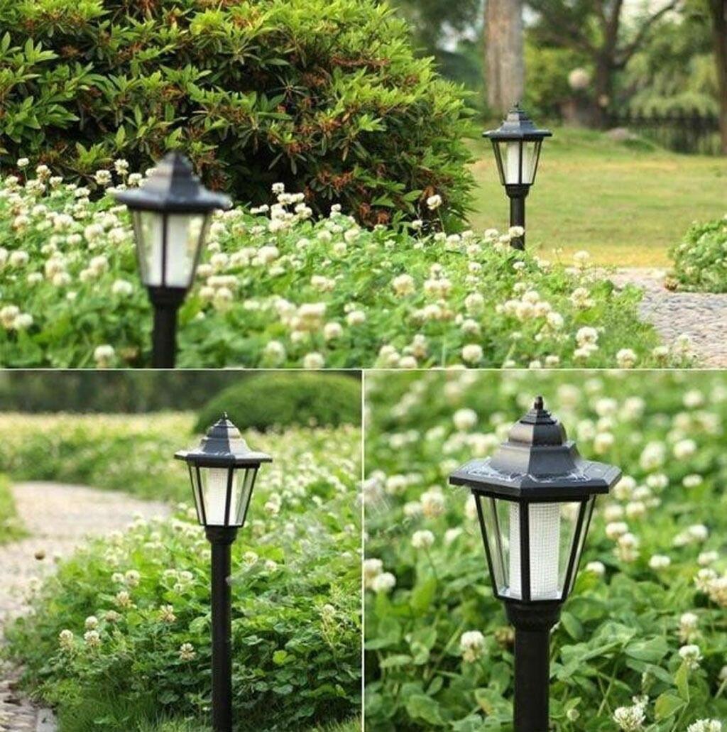 Светодиодный светильник, садовый, на солнечной энергии