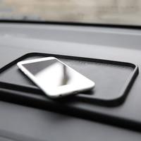 Car Anti-Slip Mat Ornament Silicone Multi-function Non-slip Pad Dashboard Decoration Trim For Key Glasses Cell Phone 20X12.5CM