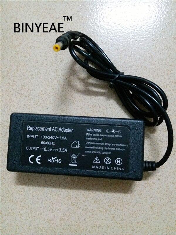18,5 V 3.5A 65 w Universal adaptador de CA del cargador de batería para HP Compaq Evo N610c N620c N800 N800c N800v portátil envío Gratis