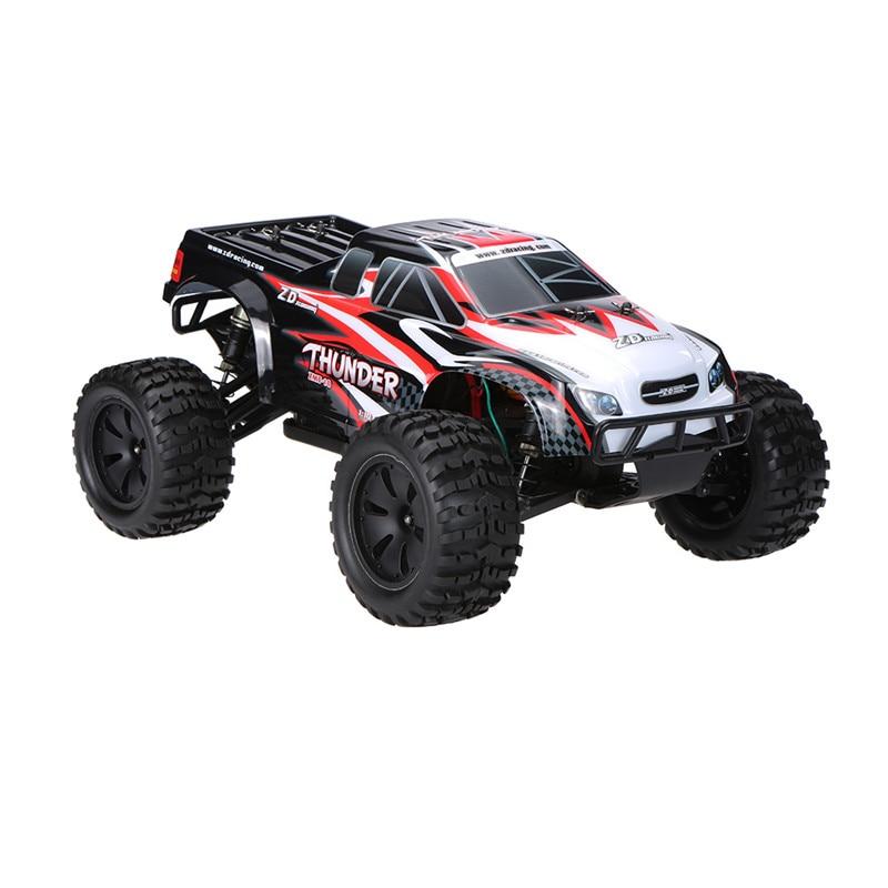 ZD Racing 9105 Thunder ZMT-10 1/10 DIY Car Kit 2,4G 4WD RC рама грузовика без электронных деталей