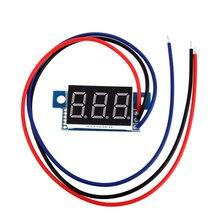 Цифровой дисплей вольтметра с прямым током, 0,36 дюйма, красный светодиод