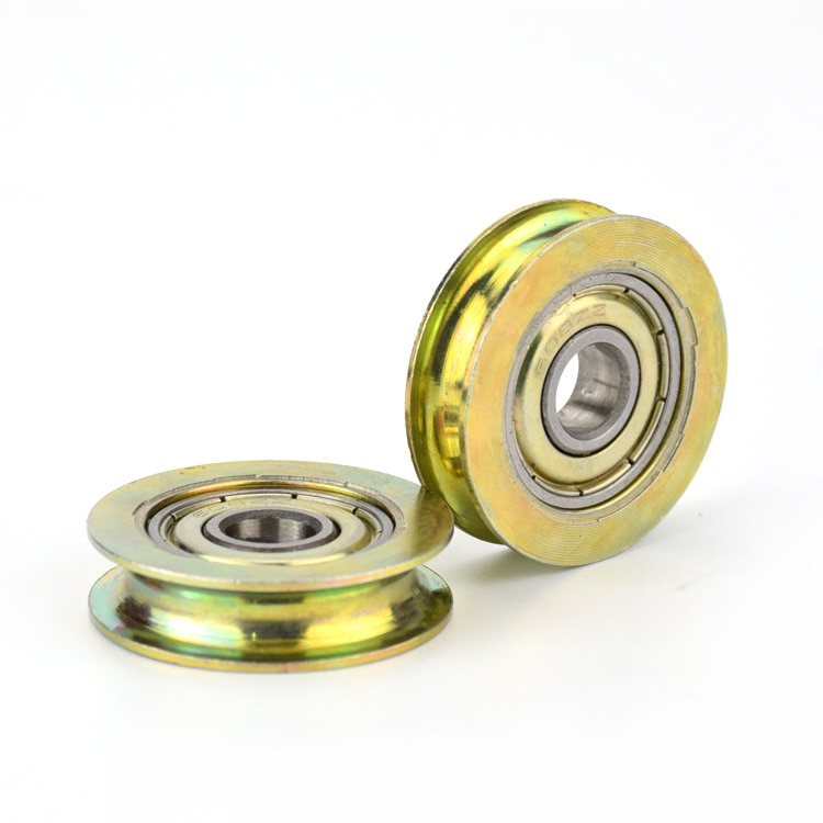 8*32*8,3 мм паз, металлическая защита от ржавчины, U тип, над тросом направляющее колесо подвески, 608zz подшипник ролик шкив