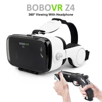 Горячая очки виртуальной реальности BOBOVR Z4 VR BOX Google Картон gafas realidad 3D Виртуальная Реальность Для 4.7-6.2 дюймов Смартфон + Многофункциональный ...