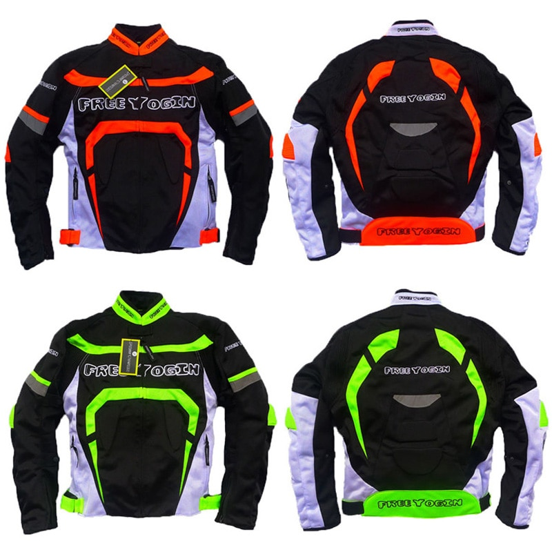 Transpirable para hombre moto rcycle racing chaqueta moto rbike ropa de montar hombres jaqueta moto queiro chaquetas armadura Cruz abrigo