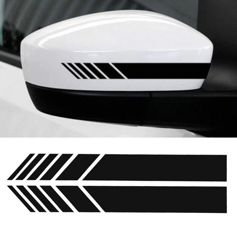 2pcs Auto Car Styling Vinyl Sticker for toyota aygo peugeot 207 107 mini cooper polo 6r volvo v70 renault captur opel golf 6
