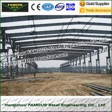 Fácil instalação oficina de estrutura de aço e armazém de fabricação