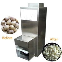 electric garlic peeling machine practical stainless steel garlic peeler high peeling rate