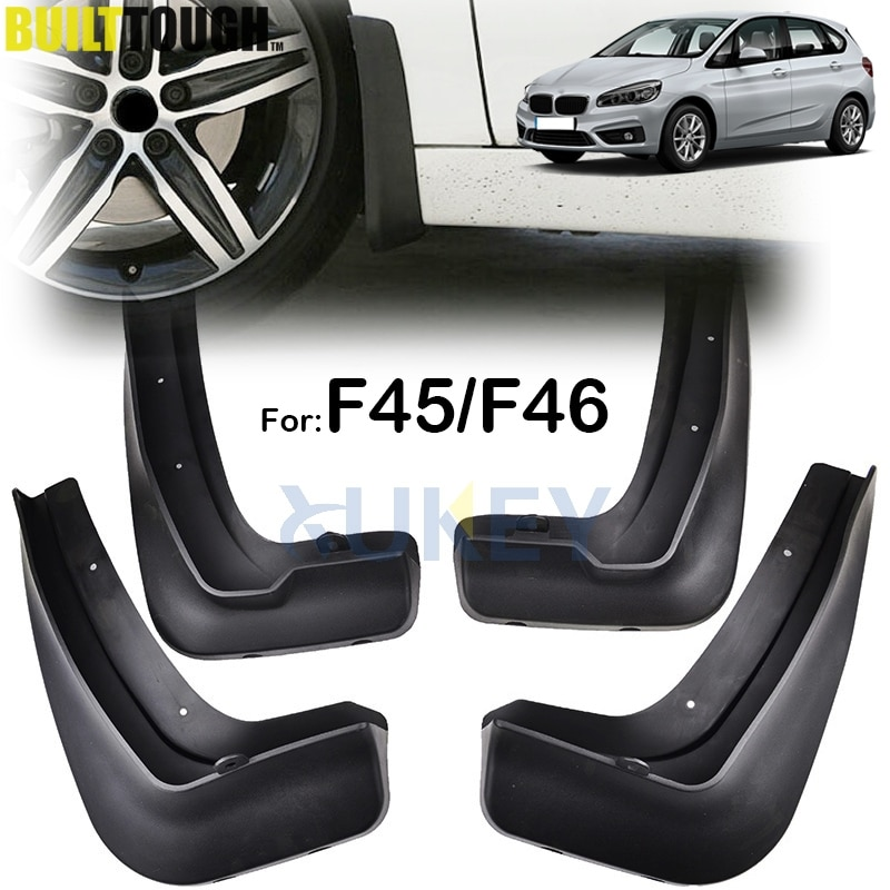 Набор брызговиков для BMW 2 серии F45 F46 Gran Active Tourer 2014 - 2019 Брызговики крыло аксессуары