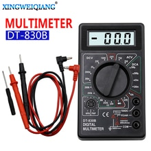Lcd Digitale Multimeter Ac Dc 750 1000V Digitale Mini Multimeter Probe Voor Voltmeter Ampèremeter Ohm Tester Meter