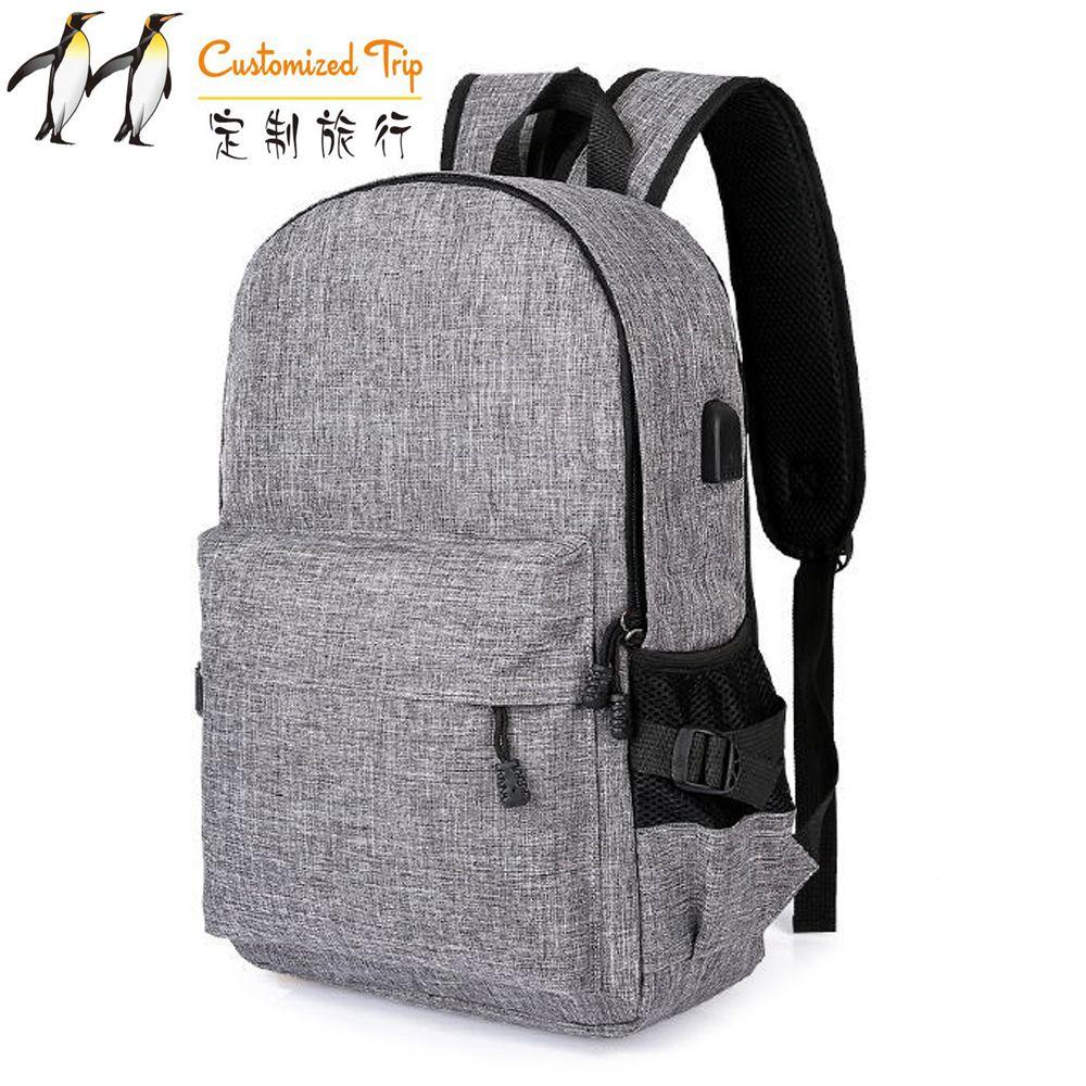 Bolso de viaje personalizado de alta capacidad, novedad, paquete rectangular, mochila multifuncional para hombre, mochila de moda, envío directo