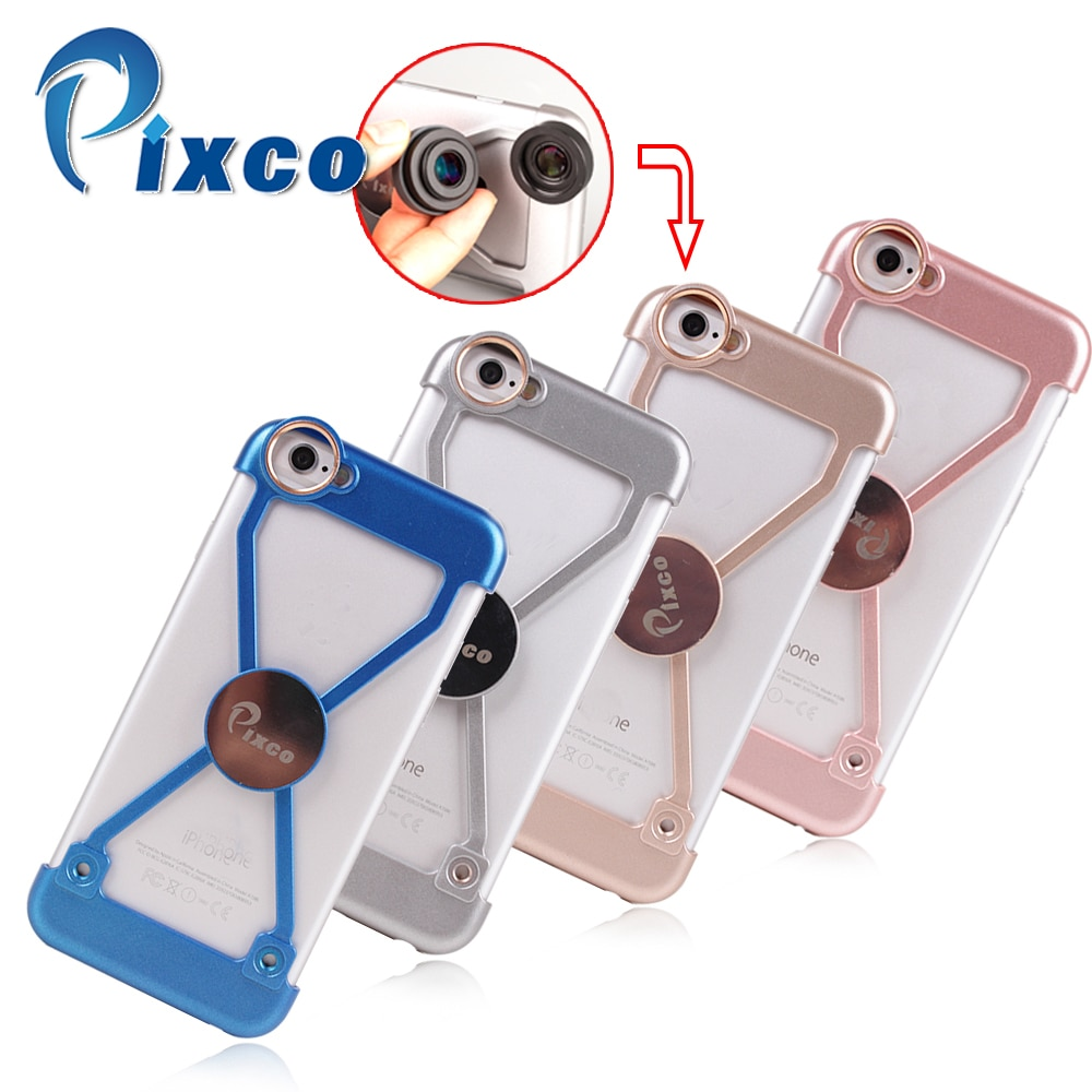 Pixco telefon skrzynki pokrywa garnitur dla I6s telefon uchwyt ochronny obiektyw typu rybie oko filtry śruba do mocowania magnes adsorpcja nawigacja samochodowa