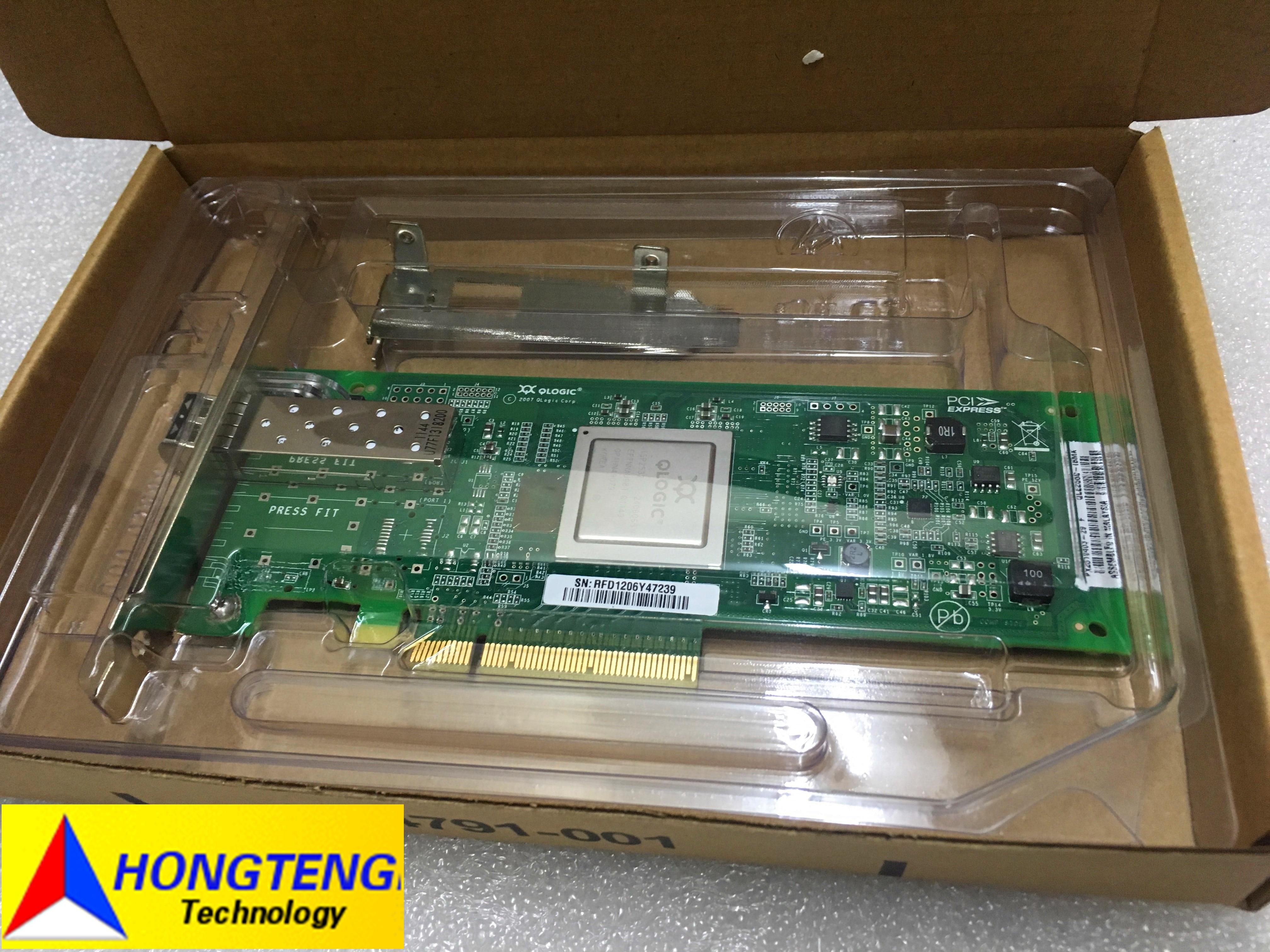 محول HP StorageWorks 8GB FC HBA QLE2560 489190-001 P/N AK344 ، اختبار OK ، شحن مجاني