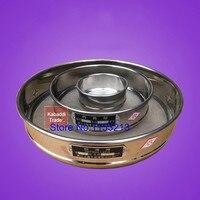 Test Sieve Laboratory Standard Sieve Sampling Inspection Pharmacopeia Sieve  All 304 SUS R20cm 500 Mesh/Aperture 0.03mm