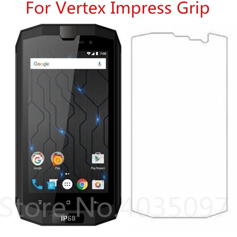 2.5D 9 H vidrio templado de primera calidad para Vertex Protector de pantalla de agarre Protector de pantalla endurecido para Vertex Impress Grip Glass