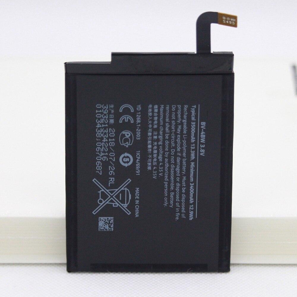 5 unids/lote BV-4BW batería interna de repuesto para teléfono Nokia Lumia 1520...