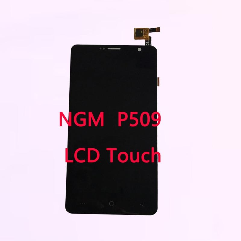 Nuevo 5,0 pulgadas para NGM You Color P509 pantalla táctil con digitalizador de pantalla Lcd reemplazo de montaje con herramientas