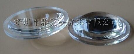 Atacado - de alta qualidade, De alta potência da lente Led 38 MM transparente superfície Led lente convexa ótica