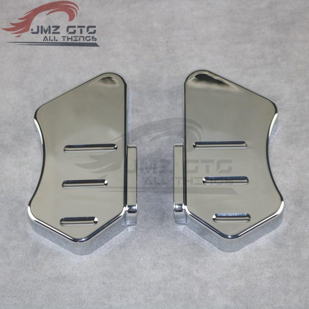 Для HONDA VTX1800 2002 2003 2004 2005 2006 2007 2008 ABS пластик хром Передняя доска для катания на песке декоративная крышка