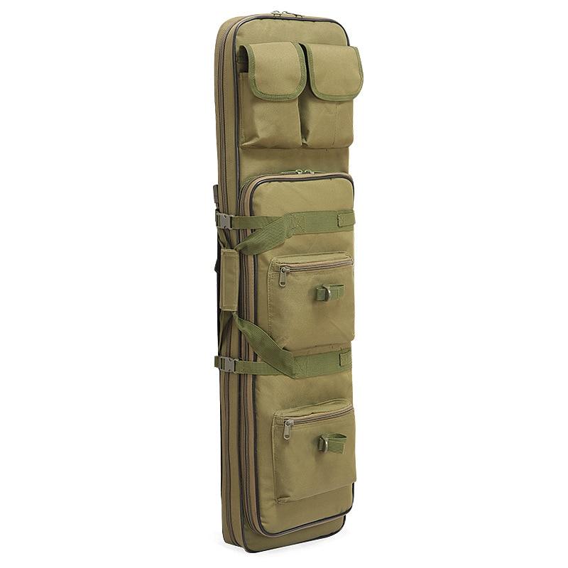 Naturebell B41 nuevo CS camuflaje táctico pistola bolsa de pesca al aire libre bolsa de caza 100cm de longitud doble Rifle bolsa