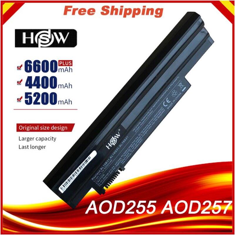 HSW batería del ordenador portátil para Acer Aspire 522 D257 D260 722...