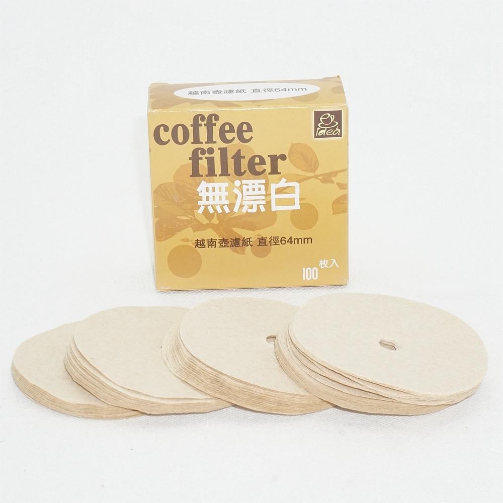 100/200/400 шт специальные бумажные фильтры для вьетнамский кофе капельницы Percolator