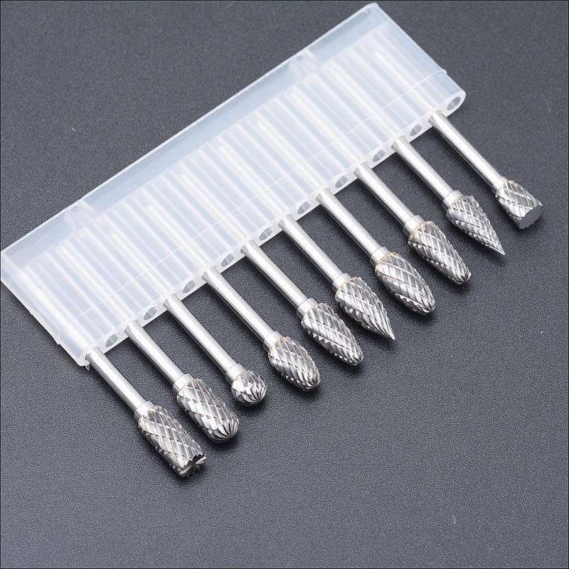 10 piezas de acero de tungsteno cabeza de molienda conjuntos de - Herramientas abrasivas - foto 3