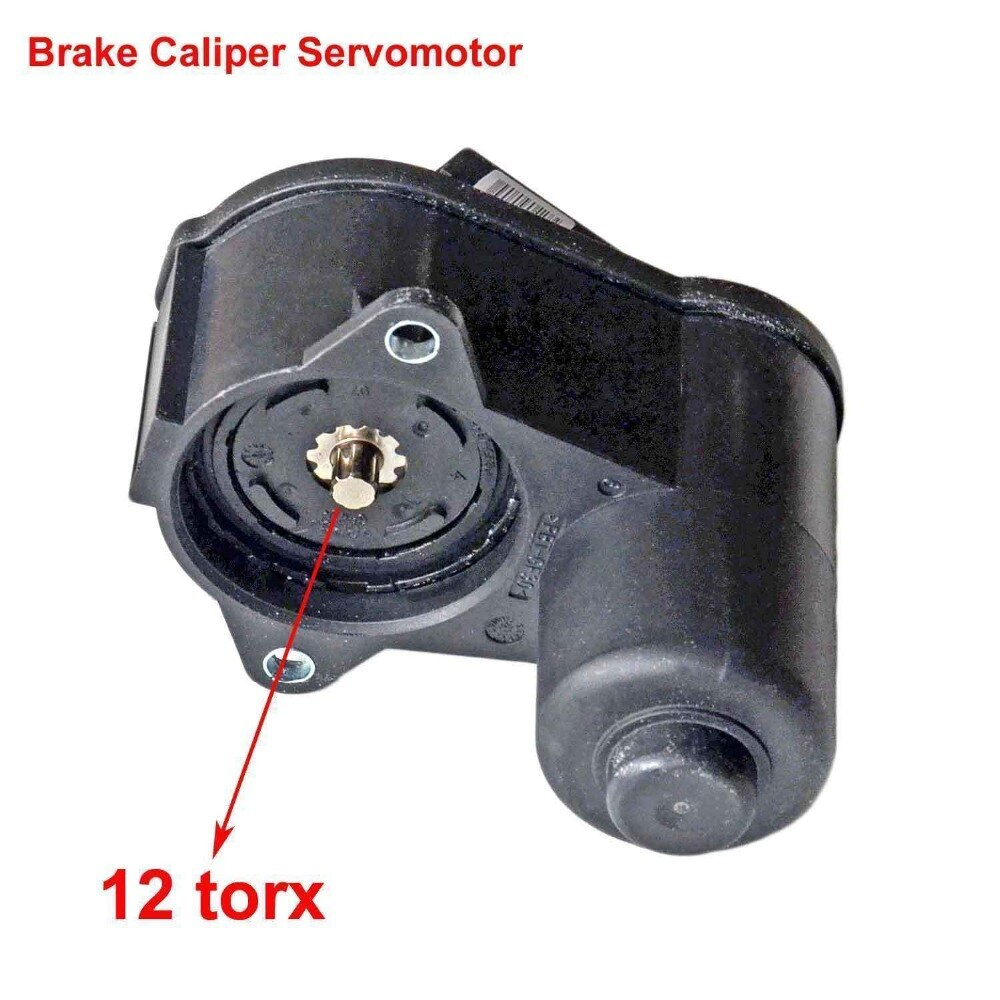 AP01 pinza de freno Servomotor 12 Torx para VW Passat CC Tiguan Audi Q3 asiento Alhambra 3C0998281 3C0998281B 3C0998281A 32330208