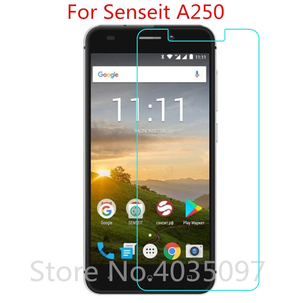 Tempered Glass For Senseit A250 Screen Protector 9H 2.5D Phone Protective Glass For Senseit A250 Gla