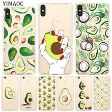 Yimaoc Mooie Avocado Fruit Zachte Siliconen Case Voor Xiaomi Redmi K20 8A 7A 6A 5A 4A 4X S2 Gaan Note 8 7 6 5 Pro Plus 4 Cover