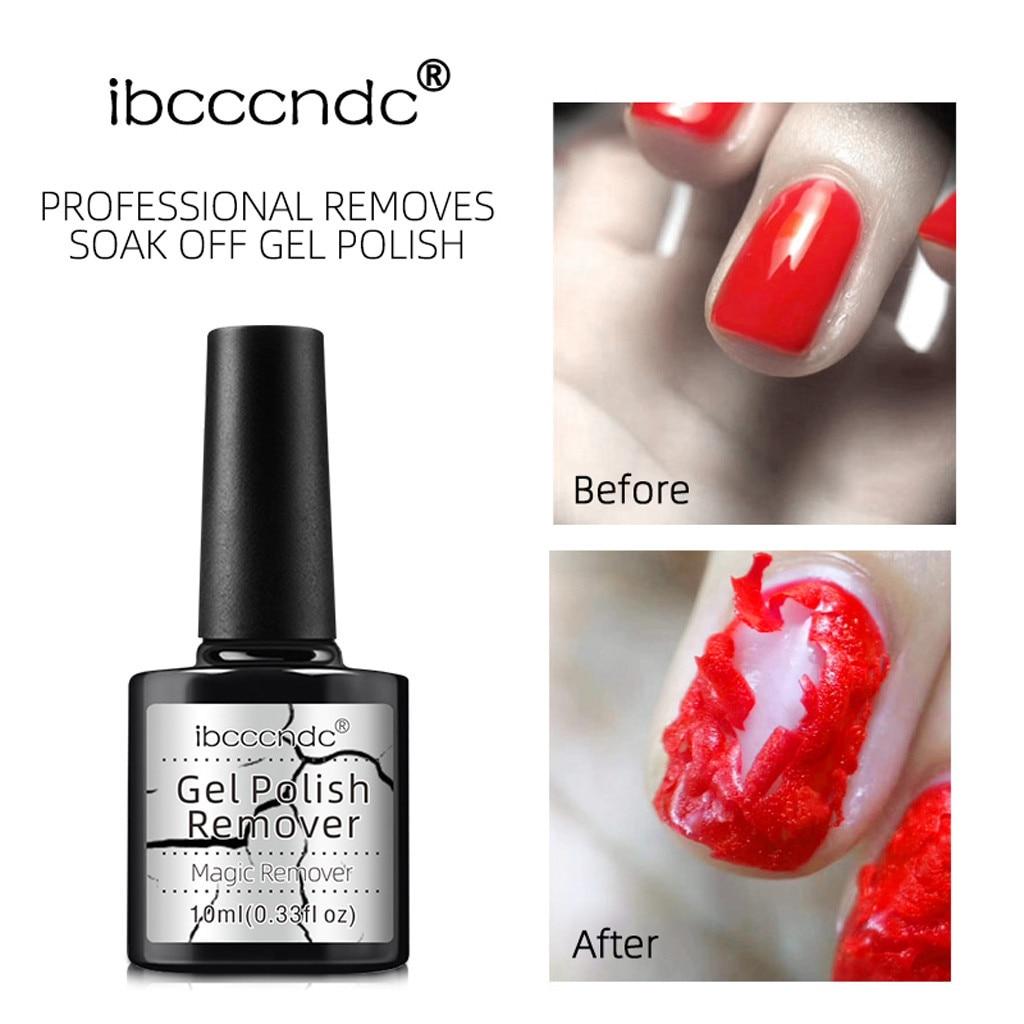 No Damage Nail Natural Bursting Removal Wraps Liquid For Gel Varnish UV Nail Hybrid Soak Off Gel Nail Paint Gel *