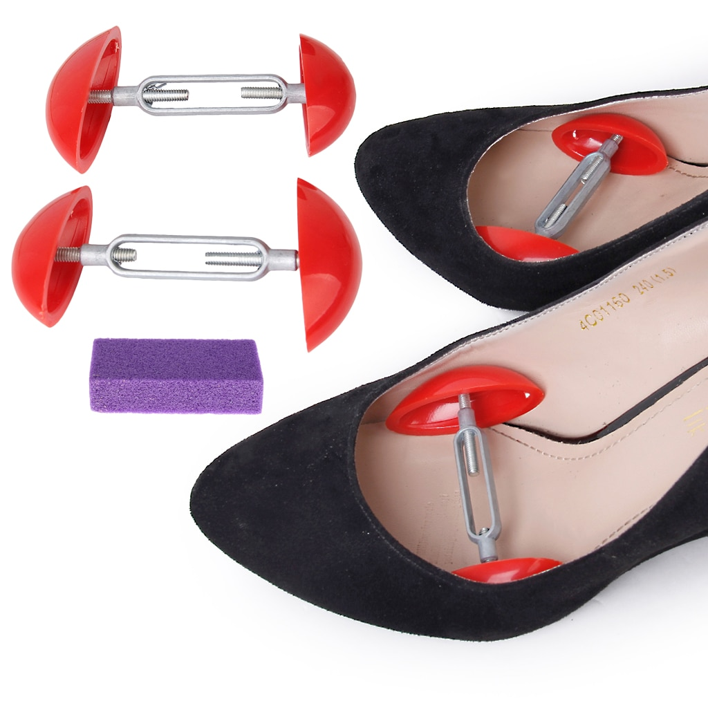 Мини носилки формирователь ширина удлинитель регулируемый обувь деревья и стопа мозоли средство для удаления обувь расширитель для мужчин% 27 женщин% 27 обувь
