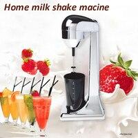 Commercial single-head milkshake machine Household milk cap machine mixer Milk cappuccinos Milk frother ice cream foamer machine