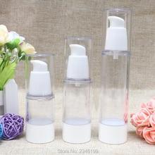 15ML30ML 50 ML 50 Pcs/Lot émulsion cosmétiques bouteilles la tête de pompe à émulsion coréen bec vide flacon vide bouteilles costume.
